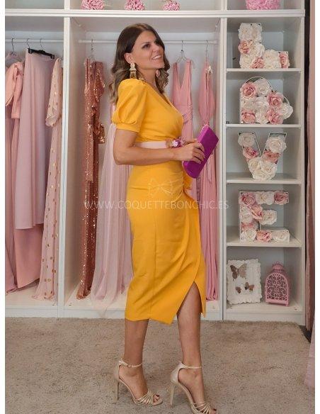 [Vestidos de fiesta cortos] - VESTIDO DE FIESTA ROCÍO